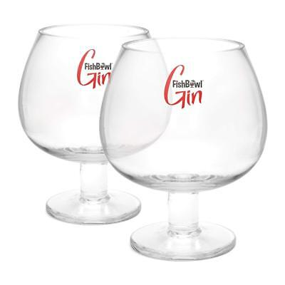 Set of 2 FishBowl™ Copa Gin and Tonic Vodka Cocktail Fish Bowl Glasses - 600ml for sale  Shipping to Canada