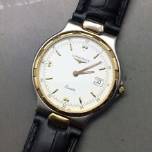Authentic Mint Cond. LONGINGS Conquest 18K Quartz Mens Watch Rose Bay Eastern Suburbs Preview