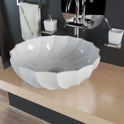 DESIGN Keramik Aufsatzwaschtich Aufsatzwaschbecken Waschtisch Sanitärkeramik KR8