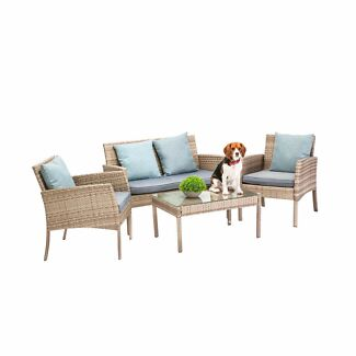 Outdoor Furniture Outdoor Setting Outdoor Sofa Set wicker