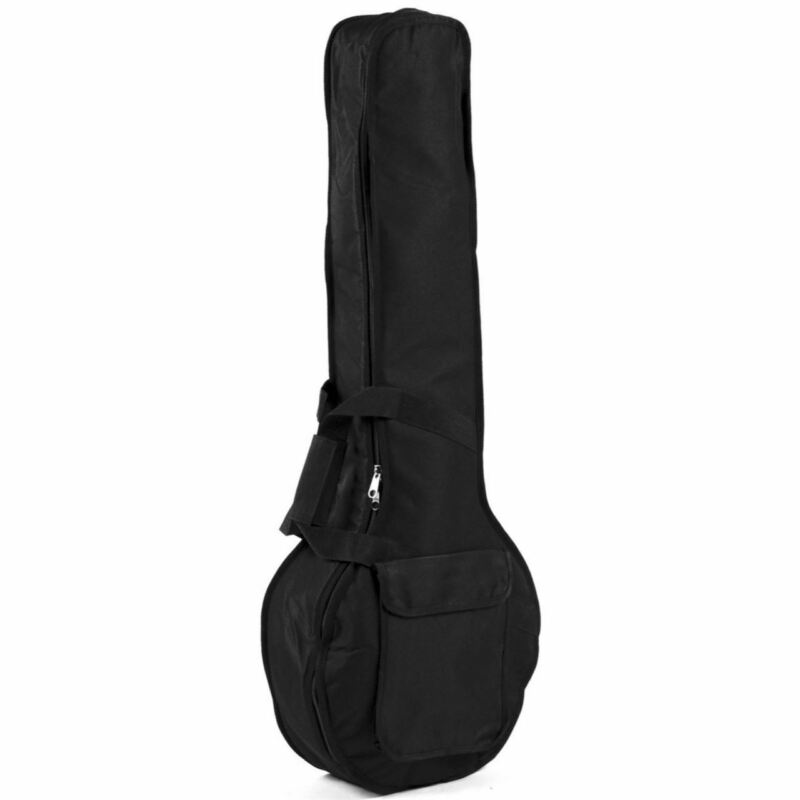 Guardian CG-100-J DuraGuard Padded Closed-Back Banjo Gig Bag, Black