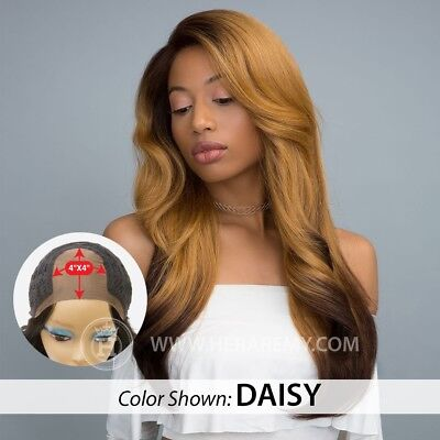 100% PREMIUM SYNTHETIC HAIR - 4X4 FREE PART LACE WIG - LIYAH WIG - HERA REMY