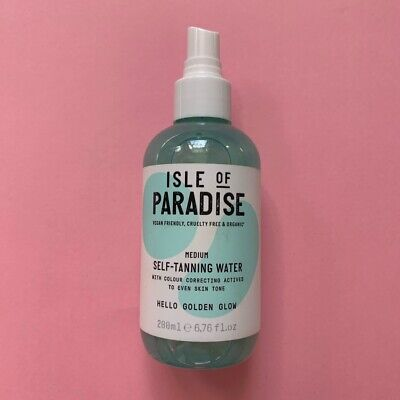 New Isle of Paradise Self-Tanning Water - Medium - 200ml. RRP £18.95
