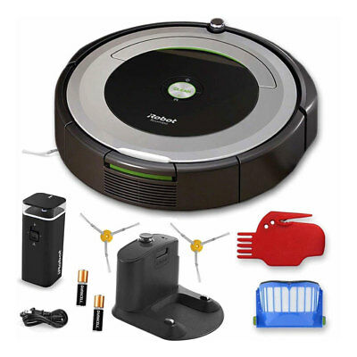 iRobot Roomba® 690 Wi-Fi® Connected Robot Vacuum + 1 Dual Mode Virtual Wall