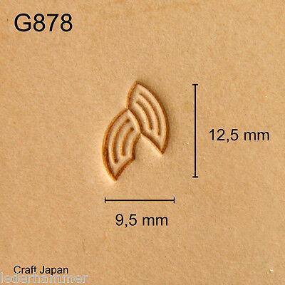 Punziereisen, Lederstempel, Punzierstempel, Leather Stamp, G878 Craft Japan