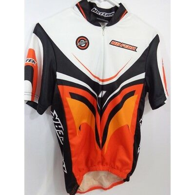 No Fear Stingers Half Zip short sleeve cycling jersey men s small f402ace82