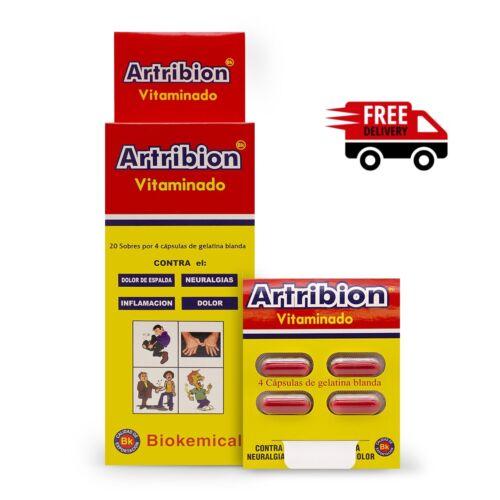 ARTRIBION VITAMINADO 20 sobres 1 DISPLAY 20 Packs x4 Pills Original ENVIO GRATIS