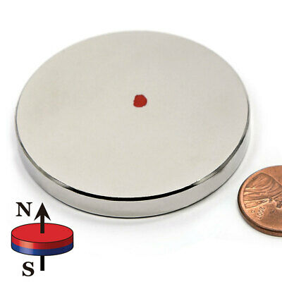 Cms Magnetics N52 Neodymium Magnet Disc 2 X 14 Rare Earth Magnet Cylinder