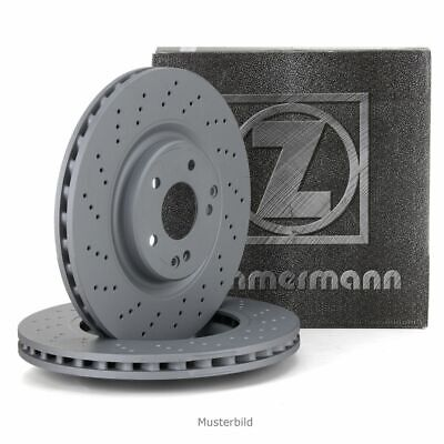 ZIMMERMANN Bremsscheiben Satz für MERCEDES W164 W251 V251 63 AMG 4-matic hinten