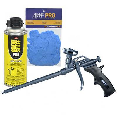 Awf Pro Teflon Coated Easy Clean Pro Foam Gun Wgun Cleaner Nitrile Gloves