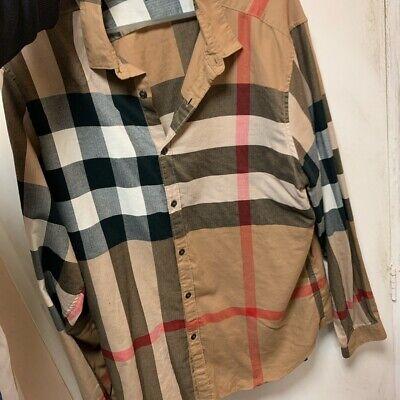 Burberry Somerton Check Shirt XXL