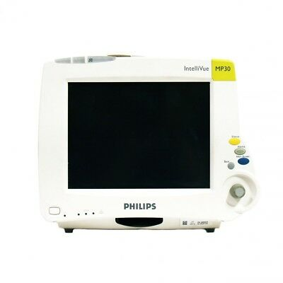 Philips IntelliVue M8002A MP30 Bedside Patient Monitor - SW Rev. G