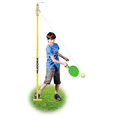 HUDORA Twistballset Spiel für Kinder 2 Twistball-Schläger Tennisball NEU
