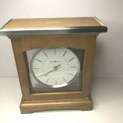 Howard Miller Urban Mantel Dual Chime Clock 630-159