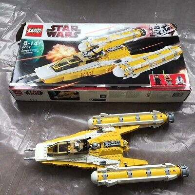 Lego 8037 Star Wars Anakin's Y-Wing Starfighter 100% complete. V. good condition