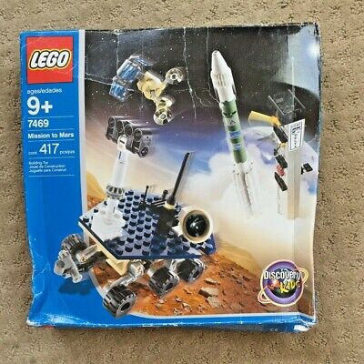 Vintage Retro Lego Discovery 7469 Mission To Mars, All Pieces Sealed