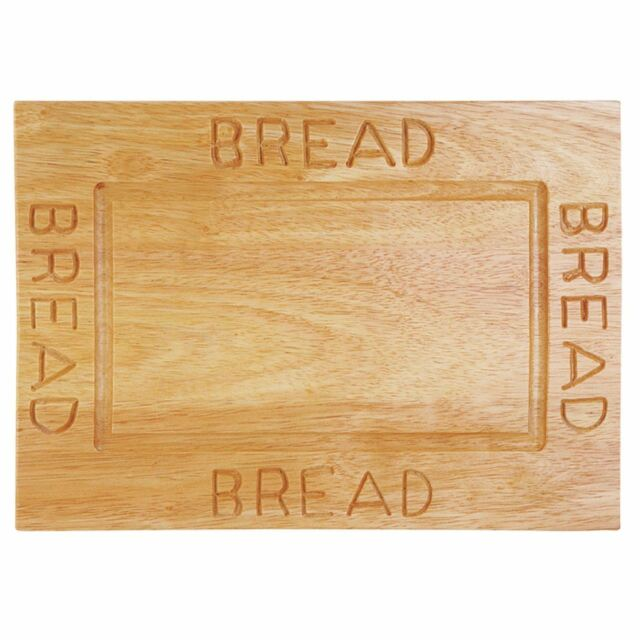 Premier Housewares Bread Plate, Rubberwood