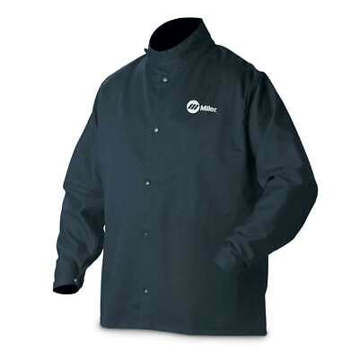 Miller 244749 Classic Cloth Welding Jacket Small