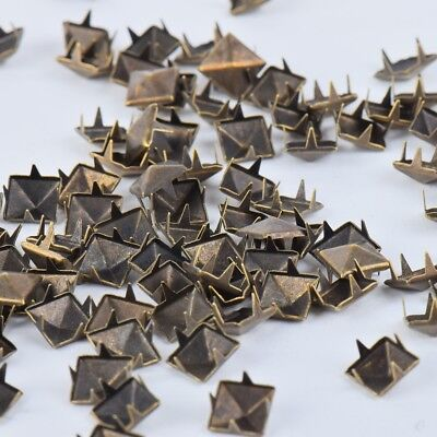Stud Rivet Wholesale Punk Jeans Bag Belt Leather Craft Studs Accessory 100PC 8mm - Punk Wholesale