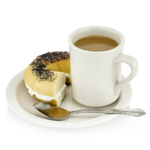 Display Faux Food Prop Coffee & Bagel Set New