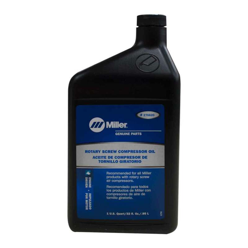 Miller 276620 Oil Air Compressor Rotory Screw Synthetic 12 pack