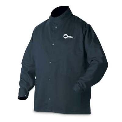 Miller 244750 Classic Cloth Welding Jacket Medium