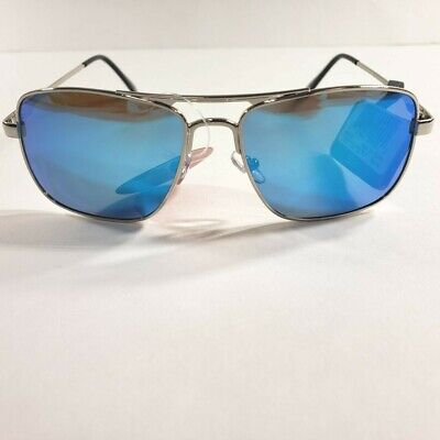 Paradise Collection Sunglasses Aviator Style with Blue mirrored lenses NEW!  (Fashion Sunglasses Collection)