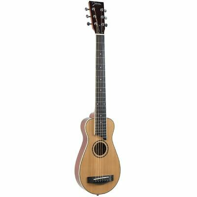 New Johnson JG-TR3 Trailblazer Acoustic Travel Guitar w/ Gig Bag + Ships Free Johnson Acoustic Guitar