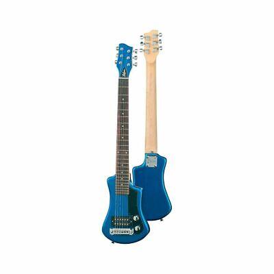 Höfner Hct Sh Shorty Eléctrica Guitarra Azul Bolsa Incl.