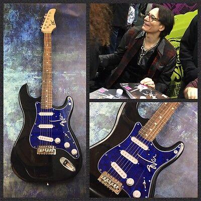 GFA Best Hard Rock Guitarist * STEVE VAI * Signed Electric Guitar PROOF S2 COA