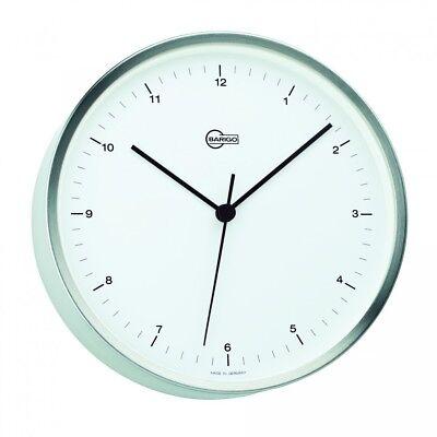 Barigo Quarz Uhr Steel mit Hintergrundbeleuchtung Edelstahl, Ø 16,2cm für Schiff