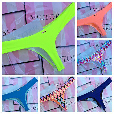 NWT Victoria's Secret Swim Sexy Little Thongs Bikini Bottoms ~ Neon ~Many Sizes