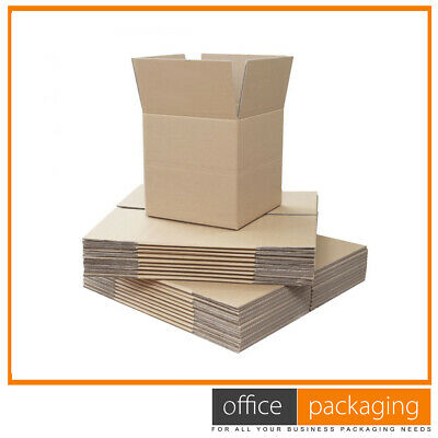 Single Wall Boxes Brown Cardboard Mailing Postal Boxes 8