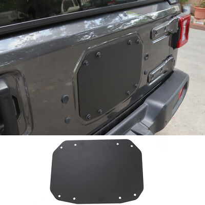 For Jeep Wrangler JL Tailgate Spare Tire Delete Filler Plate -Current Blank Plat