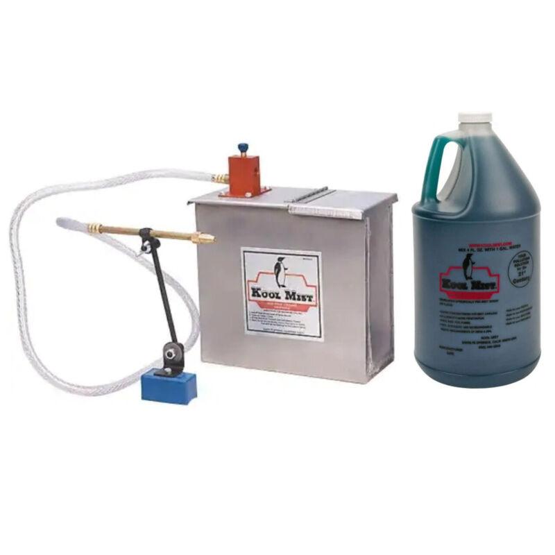 Kool Mist 100N-205 Spray Unit with 1 Gallon Tank and 1 Gallon #77 Coolant Combo