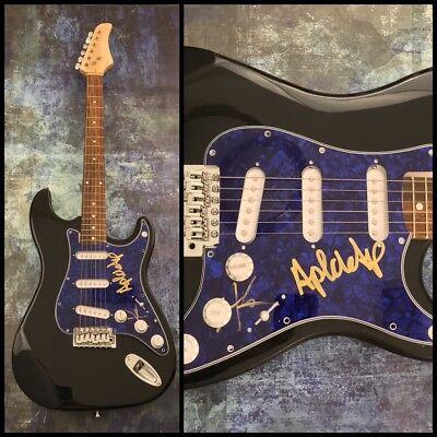 GFA Taboo & apl.de.ap * THE BLACK EYED PEAS * Signed Electric Guitar AD1 COA
