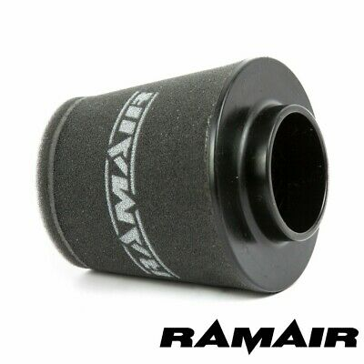 RAMAIR INDUCTION FOAM CONE AIR FILTER UNIVERSAL 76mm NECK