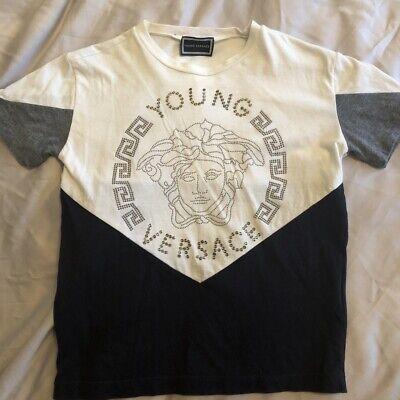 Boys Versace Tshirt Age 6
