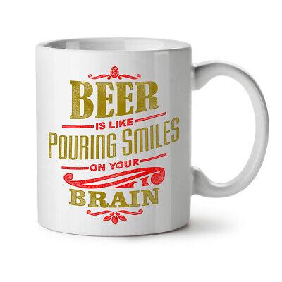 Beer Quote NEW White Tea Coffee Mug 11 oz | Wellcoda (Beer 11 Oz White Mug)