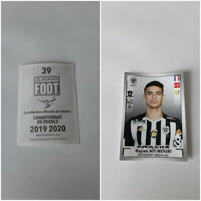 autocollant STICKERS FOOTBALL france 2019-2020 PANINI  numéro 39