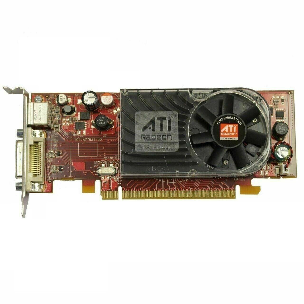 Grafikkarte AMD Radeon HD 2400XT, PCIe 2.0x16, 256MB DDR2, DMS-59, gebraucht