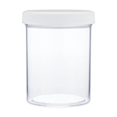6 Slime Storage Jars 4 oz (6 Pack) Clear Containers For All Your Glue Putty