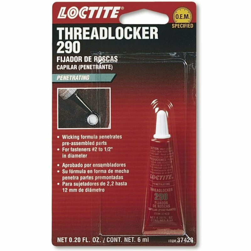 Loctite 37423 290 Green Penetrating Threadlocker Tube, 6-ml tube