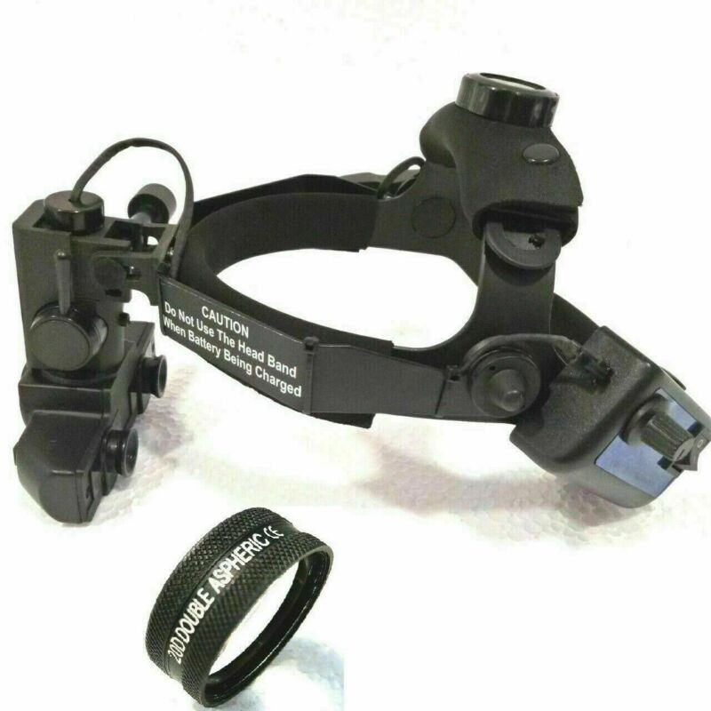 Brand New Wireless Indirect Ophthalmoscope with 20 D Lens Accessories