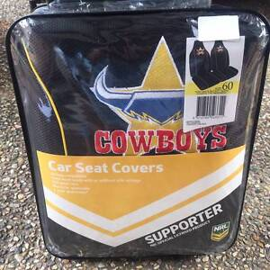 Cowboys Supporters Seat Covers Cornubia Logan Area Preview