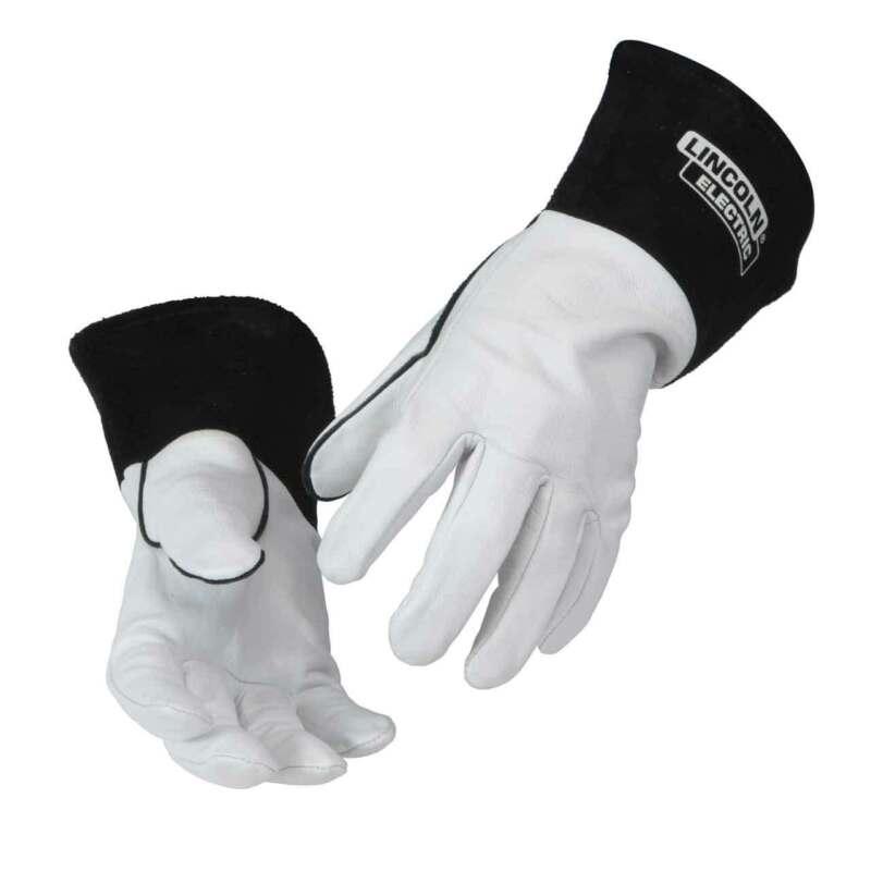 Lincoln Electric K2981 Goatskin Leather TIG Welding Gloves Medium