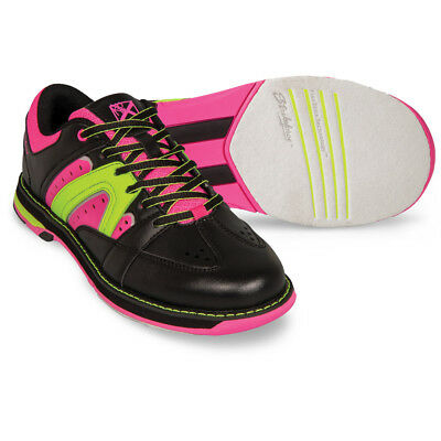 (Strikeforce Quest Bowling Shoes Black Pink Yellow)