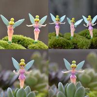 6pcs Garden Ornament Fairy Miniature Figurine Plant Pot Dollhouse Decor Craft - unbranded - ebay.co.uk