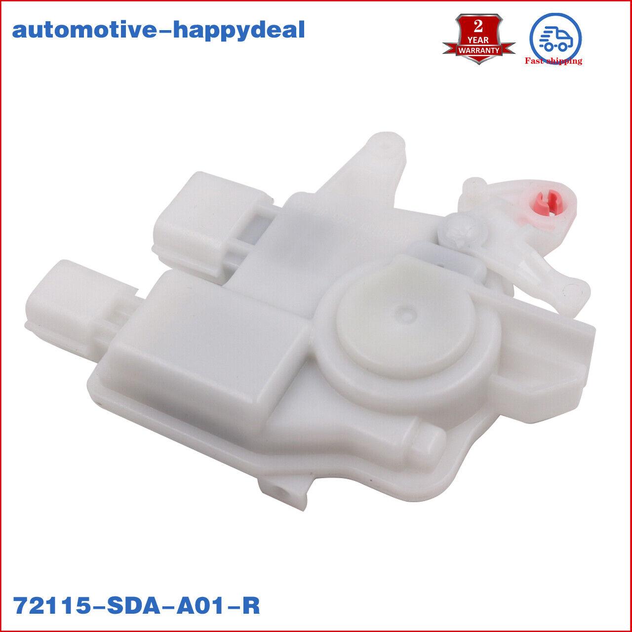 For Honda Door Lock Actuator Front Right TL TSX Side Acura Accord 72115SDAA01