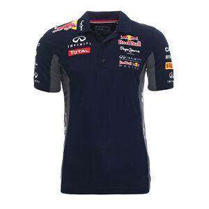 Pepe-Jeans-Polo-Maglietta-Uomo-Red-Bull-Racing-Blu-Scuro